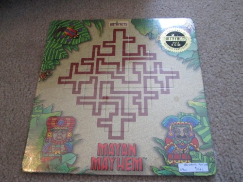 Artifacts Mayan Mayhem 13 Piece Puzzle