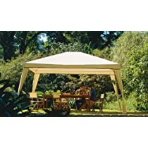 Coolaroo Isabella Camel Steel Post Gazebo,10-Foot by 12-Foot