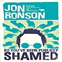 So You've Been Publicly Shamed | Livre audio Auteur(s) : Jon Ronson Narrateur(s) : Jon Ronson