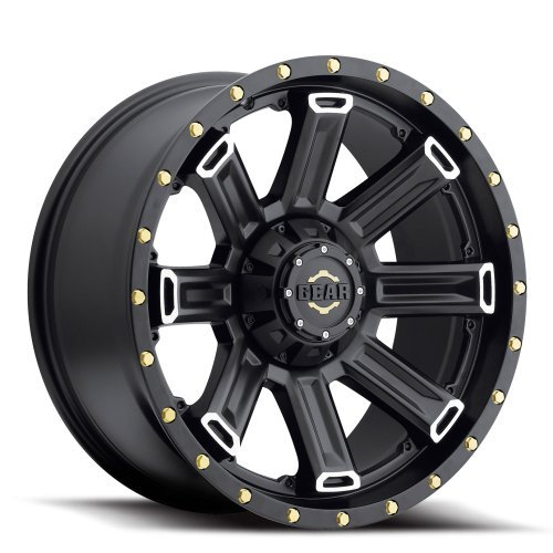 Gear Alloy Switchback 20 Black Wheel / Rim 6x135 & 6x5.5 with a 18mm Offset and a 108 Hub Bore. Partnumber 738MB-2096818 (2015 Chevy Silverado Rims compare prices)