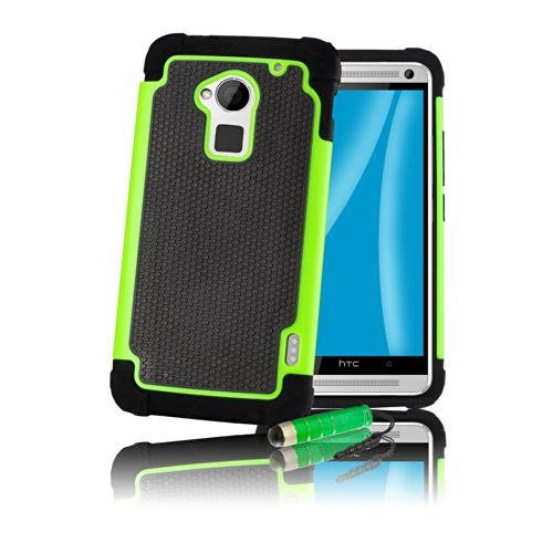 32nd-r-shock-resistant-rubber-wallet-case-for-htc-one-max-green-vert-shock-proof-green-htc-one-max