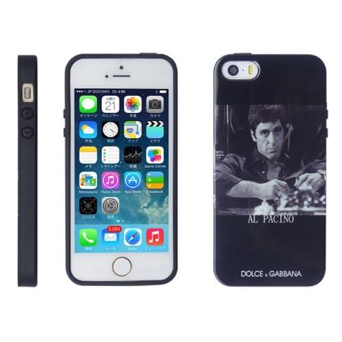 iPhone5/5S ケース 【DOLCE&GABBANA】 ドルチェ・アンド・ガッバーナ ピクチャーデザイン ハードケース 全15デザイン 【AL PACINO】 アル・パチーノ デザイン 1481-13