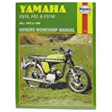 Yamaha FS1-E, FS1-M and FS1 1972-90 Owner's Workshop Manual (Motorcycle Manuals)
