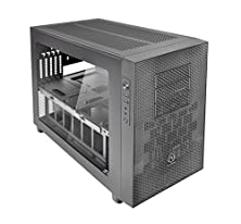 buy Thermaltake Core X1 Black Mini Itx Stackable Tt Lcs Certified Cube Chassis Ca-1D6-00S1Wn-00