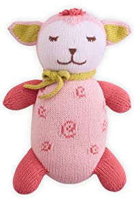 Joobles Organic Stuffed Animal - Cutie the Lamb