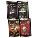 Bernard Knight Bernard Knight Crowner John Mystery 4 Books Collection Pack Set RRP: £27.96 (The Noble Outlaw, The Elixir of Death, The Manor of Death, The Witch Hunter (Crowner John Mysteries))