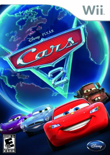 Cars 2: The Video Game - Nintendo Wii front-1072711
