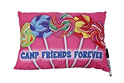 Camp Autograph Pillows Lollipop Friends