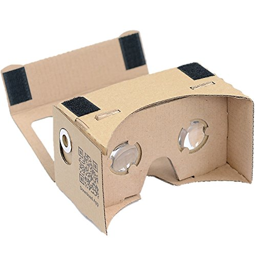 Best Buy! D-scope Pro(TM) Google Cardboard Kit 45mm Focal Length with Magnet Washer with Printed Ins...