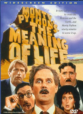 Cover art for  Monty Python&#039;s Meaning of Life