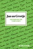 img - for Jan un Greetje: Ostfriesische Vornamen (German Edition) book / textbook / text book