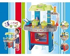 Cucina gioco per bambini con suoni e effetti di luce, servizio ...