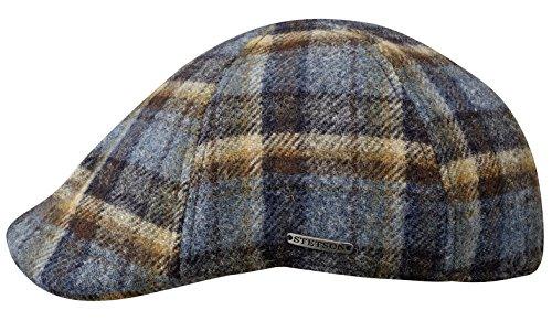 Texas Woolrich Berretto Piatto Stetson berretto becco anatra flat cap XXL/62-63 - blu