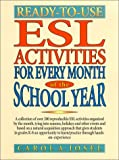 Ready-to-Use ESL Activities for Every Month of the School Year