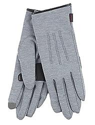 Echo Design Women's Echo Touch 3D Warmers Basic Glove Grey LG