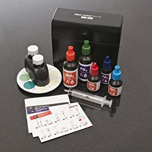 Red sea fish pharm are21520 algae control for Fish tank water test kit