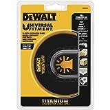 DEWALT Oscillating Tool Blade, Titanium, Flush Cut (DWA4213) (Tamaño: 1)