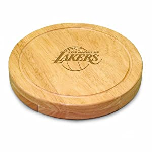 NBA Los Angeles Lakers Circo Cheese Set by Picnic Time