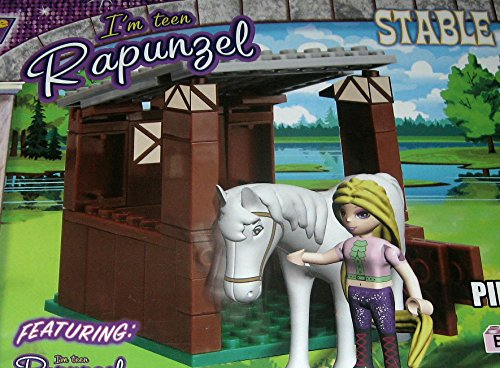 Fairy Tale High Teen Rapunzel Pony Stable - 1