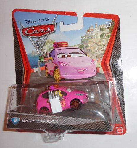 Disney Pixar Cars Exclusive 1:55 Diecast Mary Esgocar By Mattel - 1
