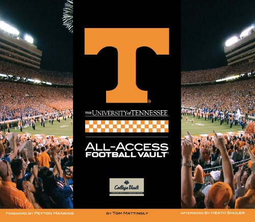 University of Tennessee Football Vault (College Vault)