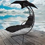 Black Dream Chair Swing Hammock Garde...