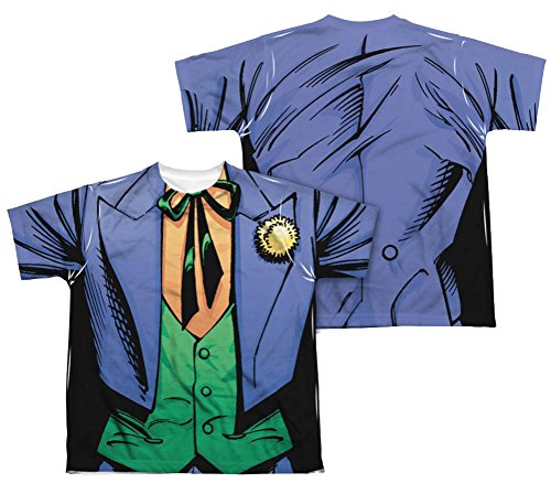 The Joker Costume All Over Youth Front/Back T-Shirt