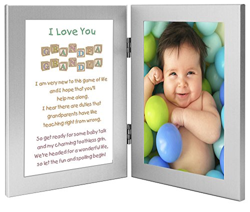 Grandma and Grandpa Gift From Baby - Grandparent Poem - Personalize with Photo Added After Delivery