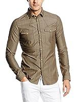 Belstaff Camisa Hombre Kelsey (Oliva)