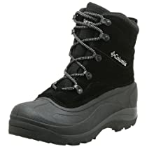 Hot Sale Columbia Men's BM1226 Cascadian Summit II Snow Boot,Black/Platinum,9 M