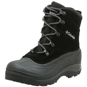 Columbia Men's BM1226 Cascadian Summit II Snow Boot,Black/Platinum,11 M