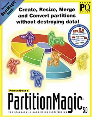 PartitionMagic 5.0 (5-pack)