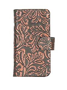 D.rD Geniune Leather Mobile Flip Cover With Card Holder For Xiaomi Mi 3 (Dark brown)
