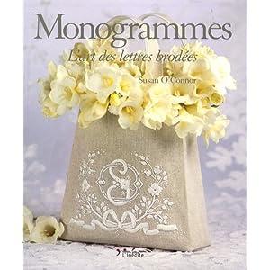 Monogrammes : L'art des lettres brodées