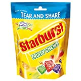 Starburst Fruity Chews Tear and Share 192g (Pack of 12)