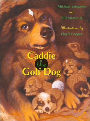 Caddie the Golf Dog