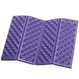 Generic EVA Foam Foldable Seat Cuchion EVA Pad EVA Kneeler Camping Outdoor Cushion - Purple