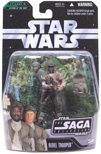 Rebel Endor Trooper (African American) - Star Wars The Saga Collection