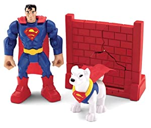 Fisher-Price Hero World DC Super Friends Superman