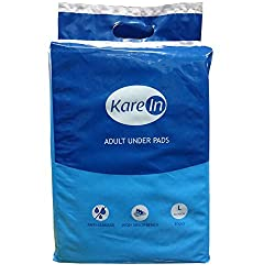 Kare In Adult Underpads 10's Size 60x90cm