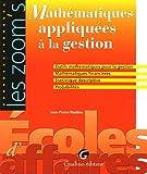 echange, troc Jean-Pierre Posière - Mathématiques appliquées à la gestion