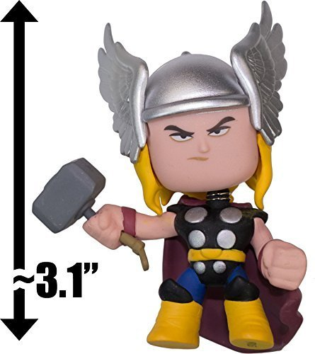"Thor: ~3.1"" Marvel x Funko Mystery Minis Vinyl Mini-Bobble Head Figure Series - 1"