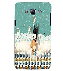 PrintDhaba cartoon D-4061 Back Case Cover for SAMSUNG GALAXY ON 5 (Multi-Coloured)