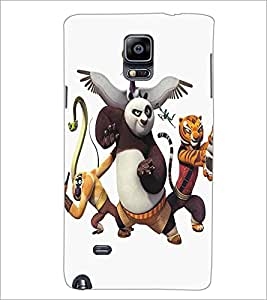 SAMSUNG GALAXY NOTE EDGE CARTOON CHARACTER Designer Back Cover Case By PRINTSWAG