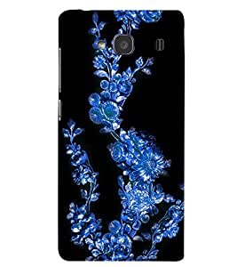 Fuson Premium Blue Climber Printed Hard Plastic Back Case Cover for Xiaomi Redmi 2 Prime