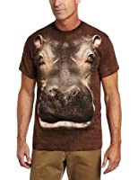 The Mountain Unisexe Adulte T�te D'Hippopotame T Shirt