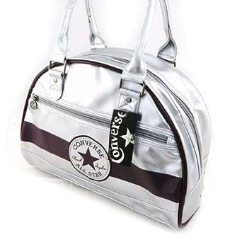 Bowling bag 'Converse' silver (pm).