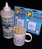 Little City Dogs Gift Bag for Big Pets ... Big Pet Flea Killer, Flea Control, Killer Dust and a mug full of Milk Bones gift wrapped for the holidays