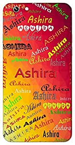 Ashira (Wealthy) Name & Sign Printed All over customize & Personalized!! Protective back cover for your Smart Phone : Moto G-4