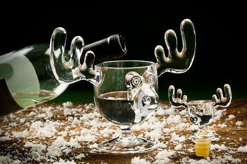 Christmas Moose Mug Wine Bottle Stopper